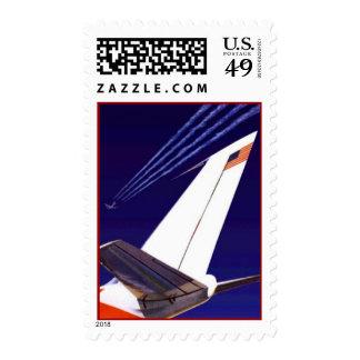 El aviador experimental de los aviones del sello
