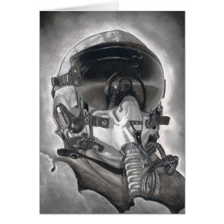 El aviador tarjetón
