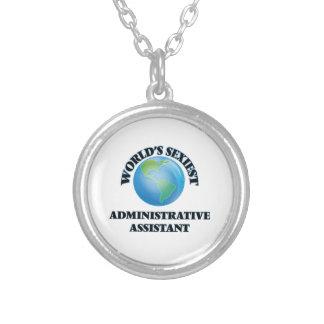 El ayudante administrativo más atractivo del mundo pendiente personalizado