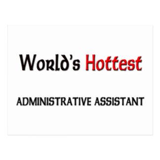 El ayudante administrativo más caliente de los mun postal