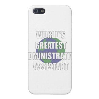 El ayudante administrativo más grande del mundo iPhone 5 coberturas