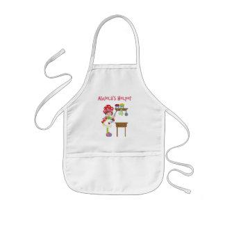 El ayudante de Abuela en la cocina Delantal Infantil