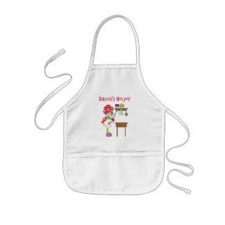 El ayudante de Babcia en la cocina Delantal Infantil
