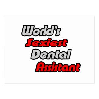 El ayudante de dentista más atractivo del mundo postal