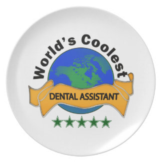 El ayudante de dentista más fresco del mundo plato