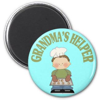 El ayudante de la abuela imanes de nevera