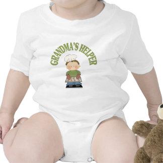 El ayudante de la abuela traje de bebé