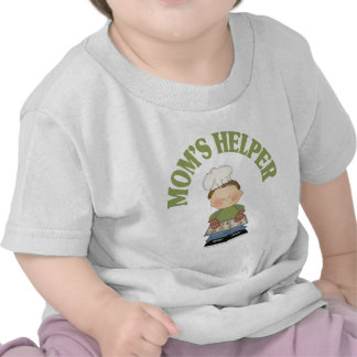 El ayudante de la mamá camiseta