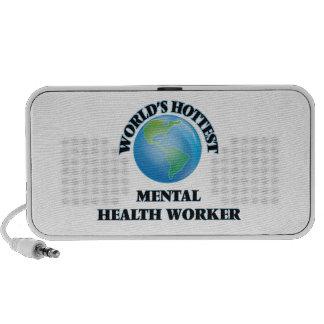 El ayudante de la sanidad mental más caliente del portátil altavoz