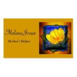 El ayudante de las madres/canguro/negocio del queh tarjeta personal