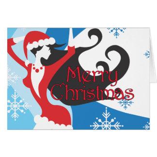 El ayudante de Santa - Felices Navidad Tarjeta De Felicitación