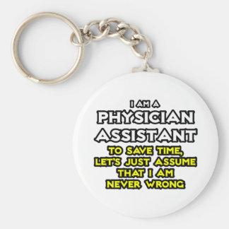El ayudante del médico… asume que nunca soy llavero redondo tipo pin