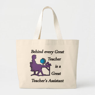 El ayudante del profesor bolsa tela grande