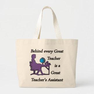 El ayudante del profesor bolsas lienzo