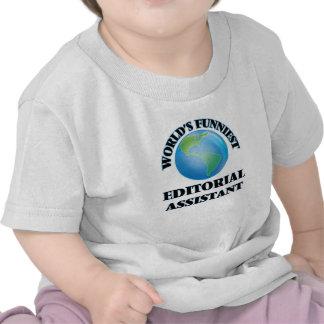 El ayudante editorial más divertido del mundo camiseta