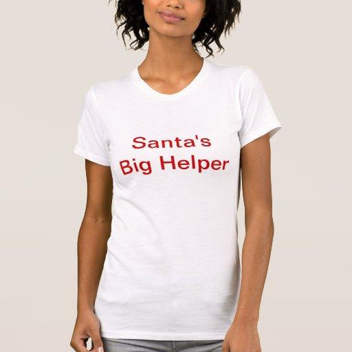 El ayudante grande de Santa Camiseta