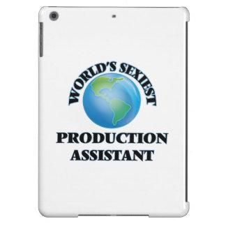El ayudante más atractivo de la producción del