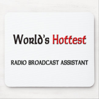 El ayudante más caliente de la emisión de radio de alfombrillas de raton