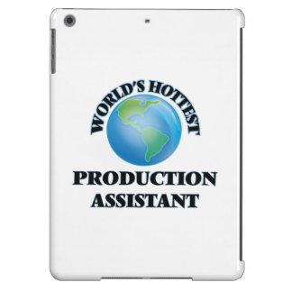 El ayudante más caliente de la producción del