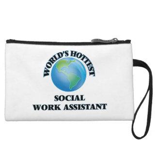 El ayudante más caliente del trabajo social del
