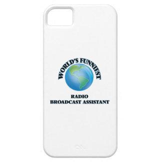 El ayudante más divertido de la emisión de radio iPhone 5 Case-Mate cárcasas