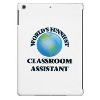 El ayudante más divertido de la sala de clase del funda para iPad air