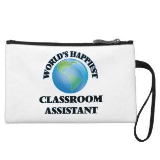 El ayudante más feliz de la sala de clase del