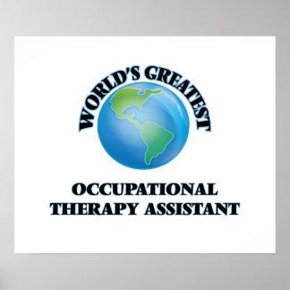 El ayudante más grande de la terapia profesional póster