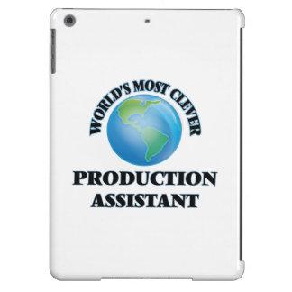 El ayudante más listo de la producción del mundo