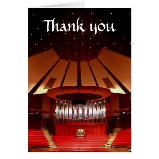 El ayuntamiento de Christchurch le agradece cardar Tarjeta De Felicitación