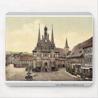 El ayuntamiento Wernigerode Hartz Alemania pH r Alfombrilla De Ratones