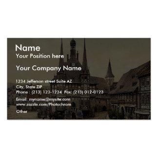 El ayuntamiento Wernigerode Hartz Alemania pH r Tarjeta Personal