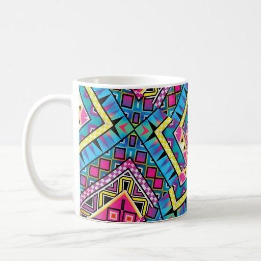 El Azteca del caleidoscopio inspiró el modelo Taza De Café
