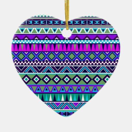 El Azteca inspiró el modelo Adorno De Cerámica En Forma De Corazón