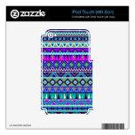 El Azteca inspiró el modelo iPod Touch 4G Skins