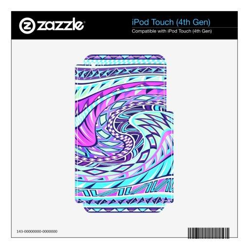 El Azteca inspiró el modelo Calcomanía Para iPod Touch 4G