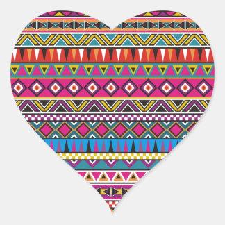El Azteca inspiró el modelo Pegatina En Forma De Corazón