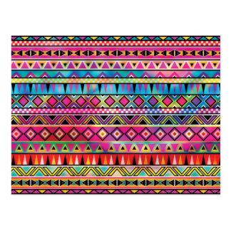 El Azteca inspiró el modelo Tarjetas Postales