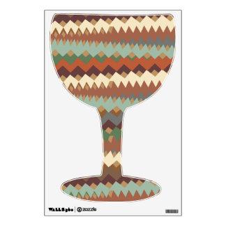 El Azteca raya camuflaje tribal del sudoeste Vinilo Decorativo