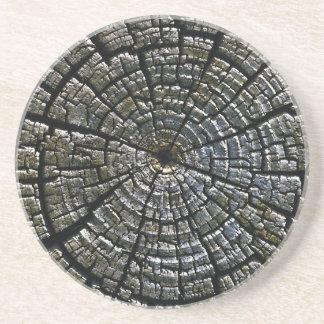 El Azteca resistido de los anillos de crecimiento  Posavasos Cerveza