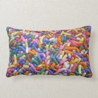 El azúcar asperja almohadas
