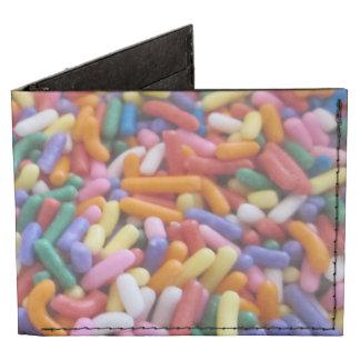 El azúcar asperja billeteras tyvek®