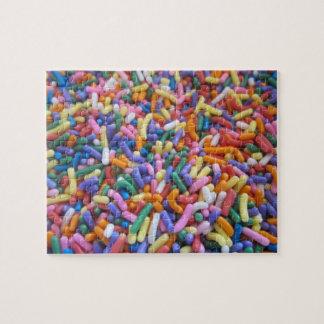 El azúcar asperja puzzle
