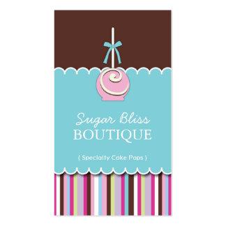 El azúcar hace estallar tarjetas de visita