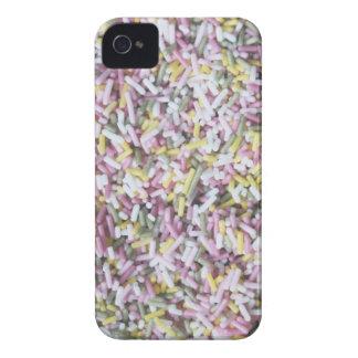 El azúcar recto asperja Case-Mate iPhone 4 protectores