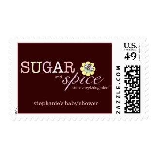 El azúcar y lo condimenta es un franqueo de la sello