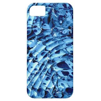 El azul agita 3 el caso del iphone 5 iPhone 5 Case-Mate protector