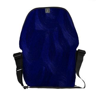 El azul agita la bolsa de mensajero del carrito bolsa messenger