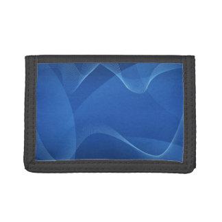 El azul agita la cartera