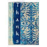 El azul agradece… tarjetón